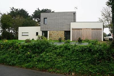Construction d''une maison contemporaine